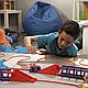 Игровой набор канатный детский трек Trix Trux Monster Trucks 2 машинки, фото 2