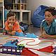 Игровой набор канатный детский трек Trix Trux Monster Trucks 2 машинки, фото 4