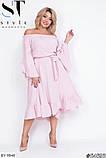 Стильное платье     (размеры 48-54) 0215-98, фото 6