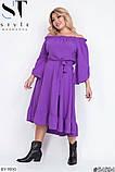 Стильное платье     (размеры 48-54) 0215-98, фото 7