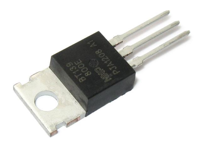 Симистор BT139-800E (800V 16A) TO-220AB