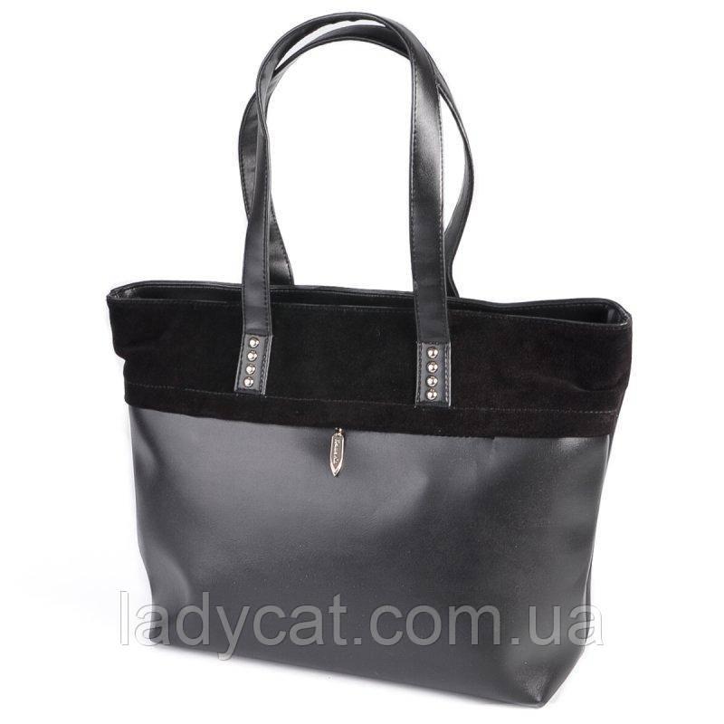 Женская сумка М161-33/замш