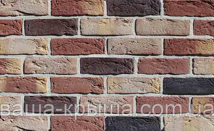 Плитка фасадная под кирпич Loft Brick Romance Бостон №10