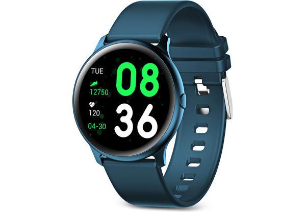 Умные часы Smart Watch KingWear KW19 Green Bluetooth 4.0 140 мАч Счетчик калорий Шагомер Пульсометр