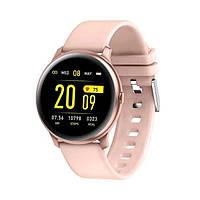 Умные часы Smart Watch KingWear KW19 Green Bluetooth 4.0 140 мАч Счетчик калорий Шагомер Пульсометр, фото 2