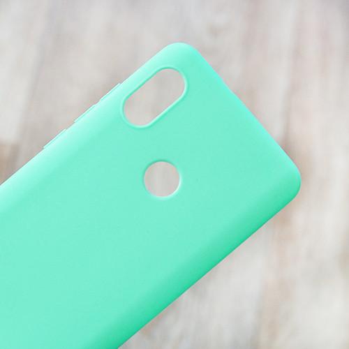 Силиконовый чехол Candy для Xiaomi Redmi Note 5 (мятный)