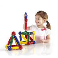 Магнитный конструктор для малышей от 2-х лет Guidecraft Better Builders 30 деталей (G8300), фото 3