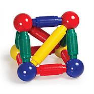 Магнитный конструктор для малышей от 2-х лет Guidecraft Better Builders 30 деталей (G8300), фото 5
