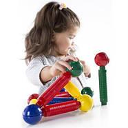 Магнитный конструктор для малышей от 2-х лет Guidecraft Better Builders 30 деталей (G8300), фото 6