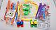 Игровой набор канатный детский трек Trix Trux Monster Trucks 2 машинки, фото 8