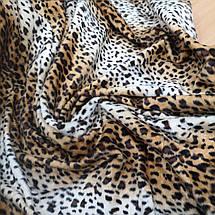 Искусственный мех коротковорсовый леопард, фото 2