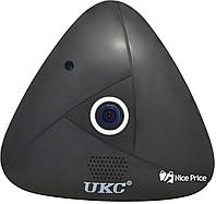 Панорамная потолочная VR IP WiFi камера UKC 3630 3mp 360° Black (4947)