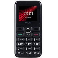 Мобильный телефон Ergo F186 Solace Black, фото 1