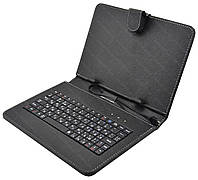 Чехол с русской клавиатурой для планшета 9'' Micro USB (0428)