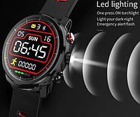 Умные часы Smart Watch KingWear L5 Black/Gray 380 мАч водонепроницаемые с цветным экраном и пульсометром, фото 6