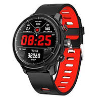 Умные часы Smart Watch KingWear L5 Black/Red 380 мАч водонепроницаемые с цветным экраном и пульсометром, фото 2