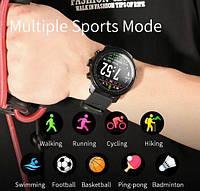 Умные часы Smart Watch KingWear L5 Black/Red 380 мАч водонепроницаемые с цветным экраном и пульсометром, фото 8
