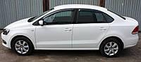 Дефлектора окон Volkswagen POLO sd V 2010-