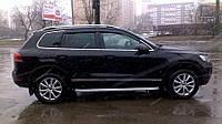 Дефлектора окон Volkswagen Touareg 2010-