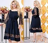 Стильное платье     (размеры 50-60) 0216-15, фото 2