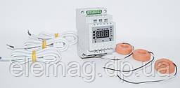 Трехфазное реле контроля тока РКТ16-3/150