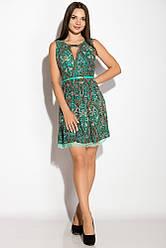 Платье женское 964K029 (Мятно-зеленый)