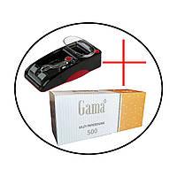 НАБОР: Электрическая машинка Gerui 5 +  Гильзы Gama 500 шт