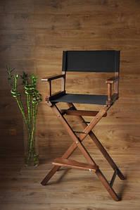 Стул для визажиста, деревянный, складной, режиссерский.