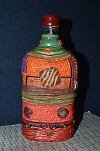 Сувенірна пляшка текстиль