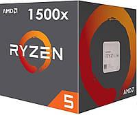 AMD Ryzen 5 1500X (YD150XBBAEBOX) Ridge Summit, фото 1