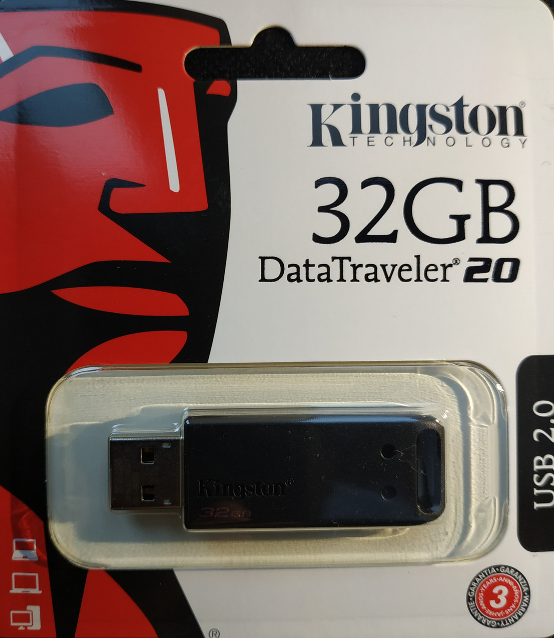 Флеш накопитель Kingston DataTraveler 20 32 гб