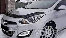 Дефлектор капота (мухобойка) Hyundai i30 2012-