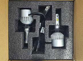 Светодиодная лампа цоколь H7, S2 CSP 6500К, 8000 lm 30W, 9-36В, фото 3