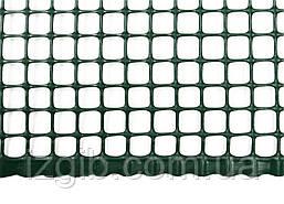 Сетка ограждающая полимерная 400 г/м2, ячейка 10х10, 1х50м