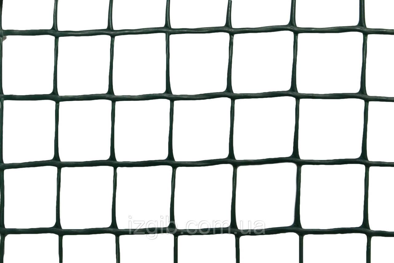 Сетка ограждающая полимерная 350 г/м2, ячейка 24х26, 1х25м