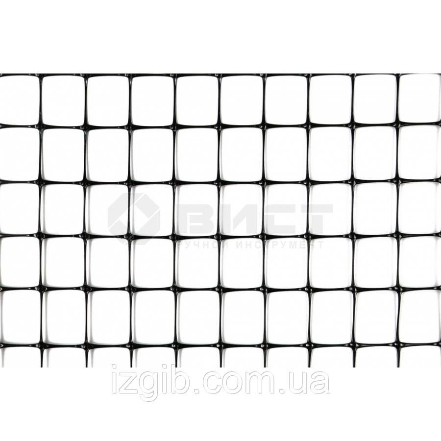 Сетка ограждающая полимерная 50 г/м2, ячейка 21х21, 1х180м