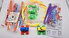 Игровой набор канатный детский трек 2 машинки Trix Trux Monster Trucks, фото 7