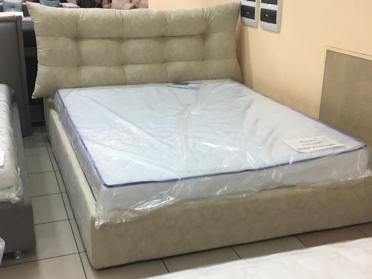 """Кровать """"Домовенок-АРТ"""" 160х200 модель """" """"DeLuxe Design Nova"""" (подъемный мех)"""