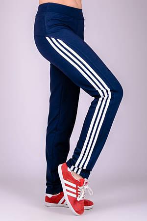 """Спортивные брюки """"Фитнес-2"""" (синие)"""