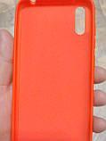 Накладка   Silicon Cover full   для  Huawei  Y5  2019  /  Honor 8S  ( красный), фото 2