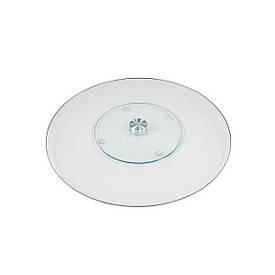 Подставка стеклянная d 60 см h 2 см