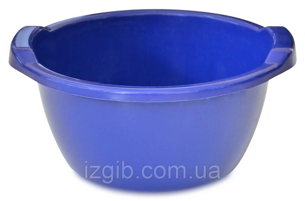 Таз пластиковый круглый, пищевой, Украина 24 л