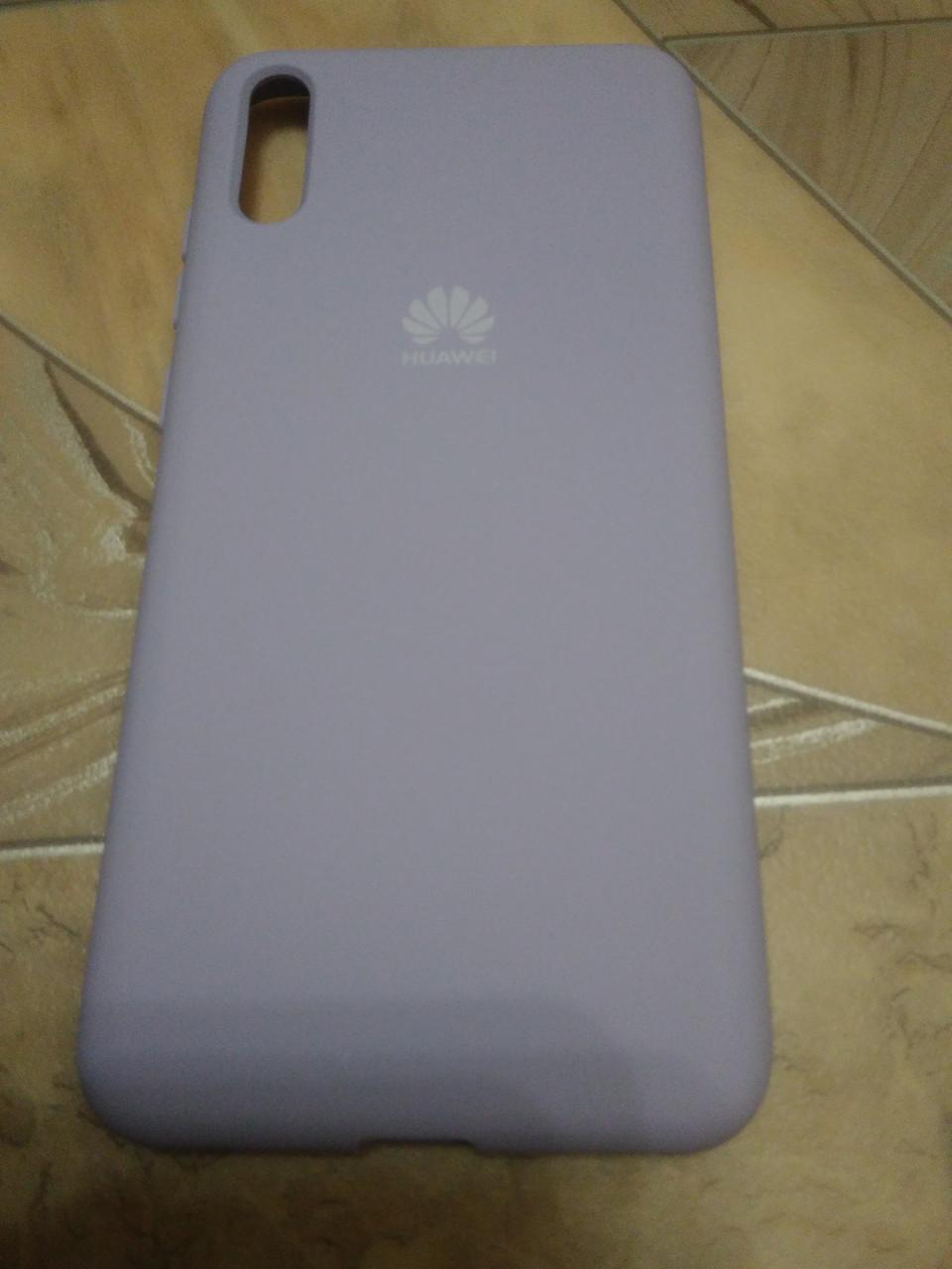 Накладка   Silicon Cover full   для  Huawei  Y5  2019  /  Honor 8S  ( фиолетовый)