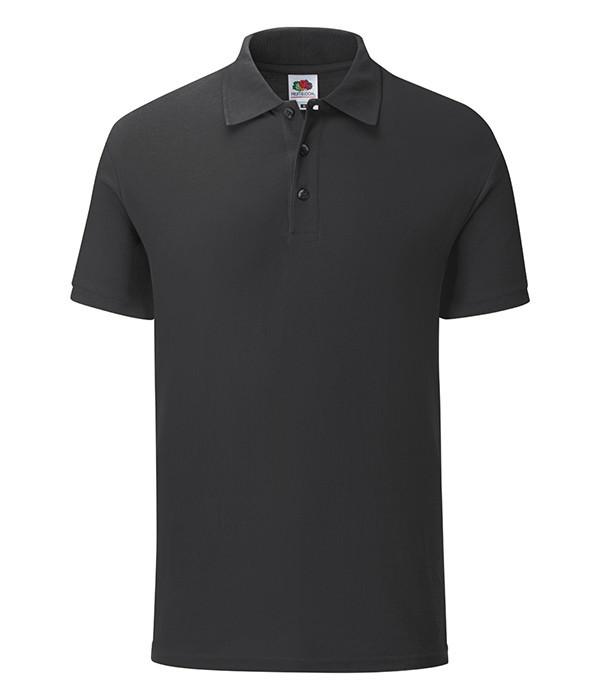 Мужская футболка Iconic Polo L, 36 Черный