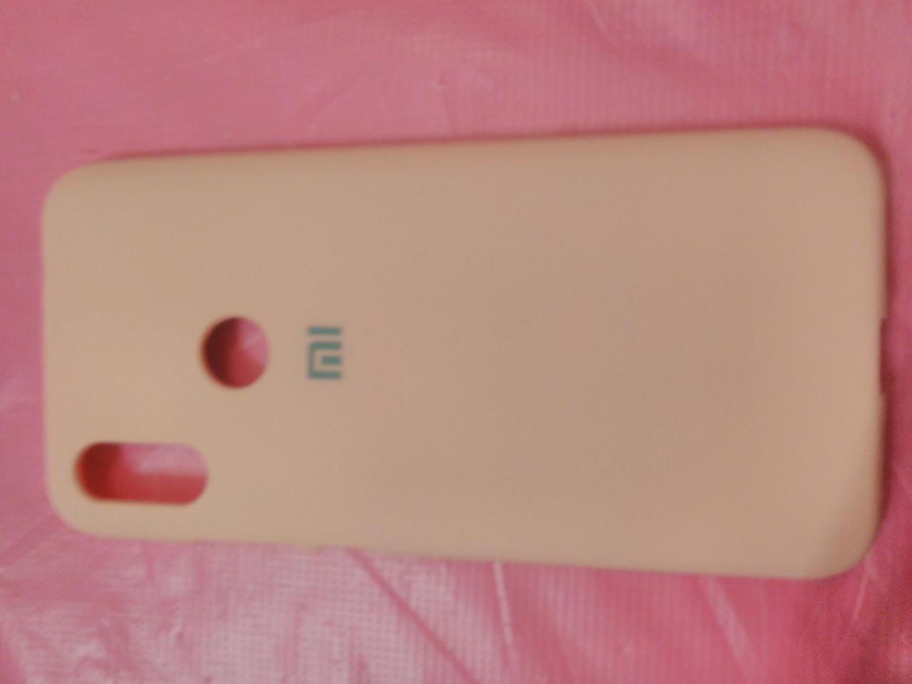 Накладка   Silicon Cover full   для  Xiaomi Redmi 7  (розовый)