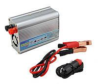 Автомобильный инвертор TBE преобразователь напряжения 12-220V 500W + USB Silver