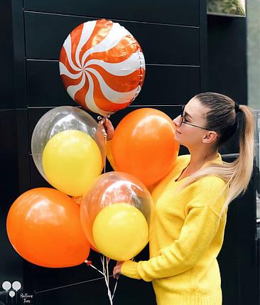 Фонтан с яркими шарами, фото 2