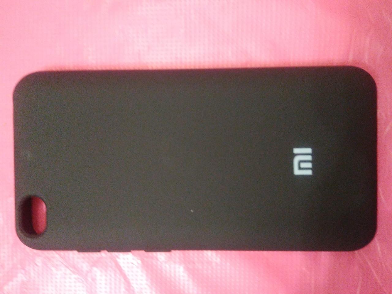 Накладка   Silicon Cover full   для  Xiaomi Redmi GO (черный)
