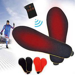 Стельки теплые с подогревом и пультом управления беспроводные REDLINE женские размер 35-40 на аккумуляторе usb