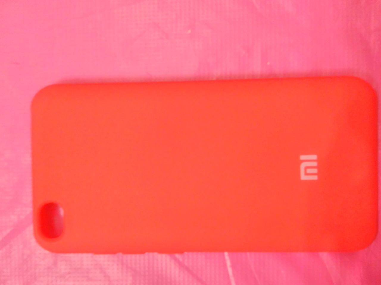 Накладка   Silicon Cover full   для  Xiaomi Redmi GO (красный)